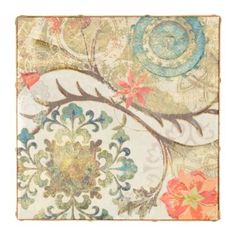 Royal Tapestry II Canvas Art Print | Kirkland's these have great colors and come in a set of 3