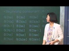 How to read Korean 1 (Korean language)