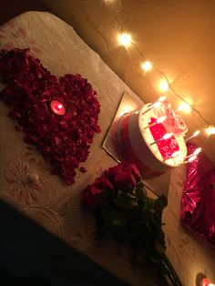 Romantic Dinner Setting, Romantic Date Night Ideas, Romantic Surprise, Birthday Decorations For Men, Anniversary Decorations, Valentine Decorations, Happy Birthday Wishes Quotes, Happy Birthday Cakes, Cute Couple Gifts