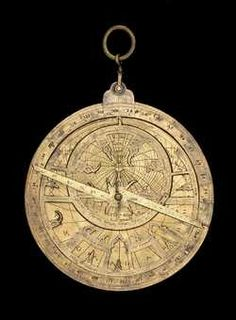astrolabe, inventory number 37878 from Spain, ca. 1260