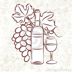 Dessin A Imprimer Bouteille De Vin 63 meilleures images du tableau repas à thème | repas, bouchons de