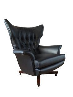 Vintage G Plan 6250 Wing Chair Restored by Florrie + Bill