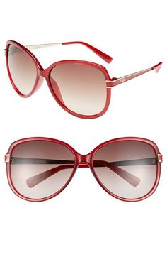 Karl Lagerfeld 62mm Sunglasses available at #Nordstrom