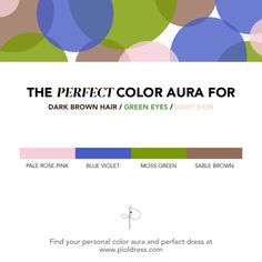 Do you know which clothing colors best suit your skin tone? Find your color aura with @pioldress !