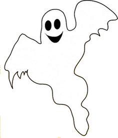 Kleurplaat: spook