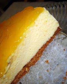 Eternos Prazeres: Torta Trufada de Maracujá