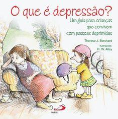 O que é depressão? - Um guia para crianças que convivem com pessoas deprimidas.  Um adulto depressivo nunca está sozinho. Dá-se como que um efeito de ondulação que pode deixar as crianças confusas, agressivas, tristes... imaginando por que sua mãe não mais lê histórias de ninar à noite ou fica desorientada porque seu pai não a leva mais, aos sábados pela manhã, para resolver coisas. Deixe que este livro, maravilhosamente escrito, ajude a explicar às crianças o que é depressão, numa…