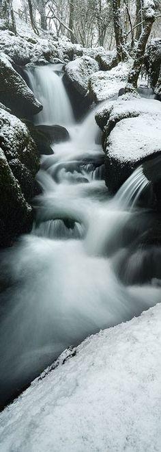 Colly Brook, Dartmoor in Devon, England