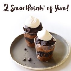 Our NEW Smart Points are designed to help you make healthier choices more easily. But that doesn't mean sacrificing occasional indulgences. These Chocolate-Espresso Mousse Shots are only 2 SmartPoints... Chocolate Pudding, Chocolate Shots, Chocolate Mouse, Chocolate Layer Dessert, Chocolate Wafers, Chocolate Espresso, Espresso Cups, Chocolate Desserts, Best Espresso