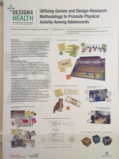Using #games and #design to promote physical activity among adolescents #D4H2015