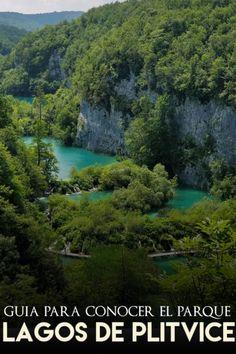 Guía para visitar el Parque Nacional de los Lagos de Plitvice Dubrovnik, Europe, River, Outdoor, Lakes, Viajes, Places To Visit, Zip Lining, Time Travel