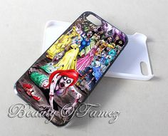 Disney Princess Zombie Mermaid for iPhone 4, iPhone 4s, iPhone 5, iPhone 5s, iPhone 5c Samsung Galaxy S3, Samsung Galaxy S4 Case on Etsy, $14.97