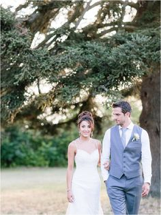 Bride and groom in the grounds of Chateau de Mauriac Image by Ian Holmes