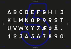 'New Industry' is a modern take on an industrial typeface.The font was a three-day project and can be downloaded for free.