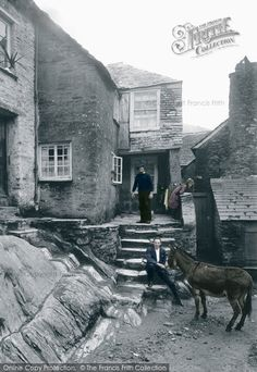 Polperro, An Old Smugglers Cottage 1924. From The Francis Frith Collection, a privately-owned archive of over 130,000 photographs of Britain from 1860-1970 that you can browse online for free anytime! #francisfrith #photography #nostalgia