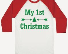 First Christmas Outfit, First Christmas Baby Shirt, Baby Christmas Shirt, 1st Christmas Outfit, My First Christmas Shirt Boy or Girl 015b