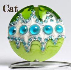 Handmade Lampwork Bead ~ Catlampwork