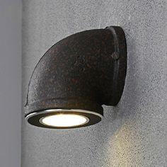 RH Vintage Industrial Water Pipe Wall Lamps Loft 3W LED Wall Light for Bar Restaurant Wall Fixtures110V/220V Bedside Lighting