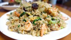 肝腸鮮蝦炒飯 (1)