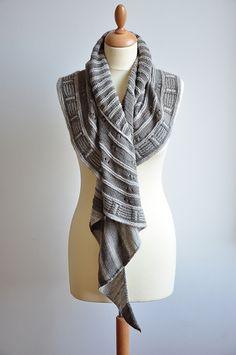 Stephen West's Rockefeller's shawl/scarf
