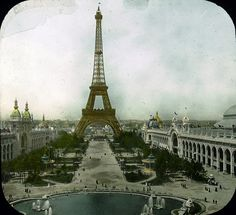 Paris Exposition: Champ de Mars and Eiffel Tower, Paris, France, 1900