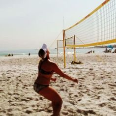 Cut it outta here! Beach Volleyball, Cape Town, South Africa, Sims, Camping, Running, Spring, Bikinis, Instagram Posts