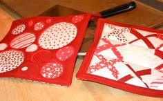 Free Valentine's Day quilt block patterns!