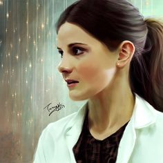 My new painting of Molly Hooper. :) // absolutely beautiful my friend!!!