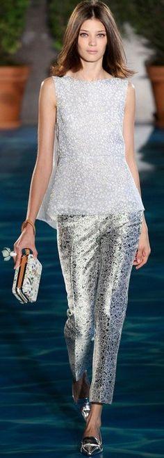Tory Burch S/S 2014, New York Fashion Week ♥✤ | KeepSmiling | BeStayBeautiful