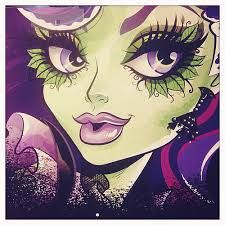 """Monster High: Amanita Nightshade! Amanita Nightshade is a plant monster born from the Corpse Flower, which only blooms every 1300 years. While she believes herself to be the most beautiful and charming monster of all, in reality she is incredibly selfish and obnoxious. She is not exactly a Monster High student or """"other student"""", because she only comes out every 1300 years, so she usually goes back inside her Corpse Flower. Amanita has two appearances, a Bad Seed appearance and a Corpse…"""