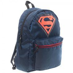 5ddefd1bfd Superman Man Of Steel Logo Action Reversible Full Size Back Pack Bag DC  Comics  DCComics  Backpack
