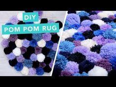 יצירה חורפית וחמודה, שטיח פומופנים: מלבני/ריבוע  תהנו!