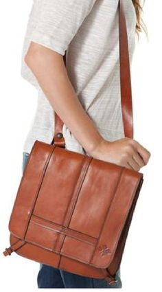 Patricia Nash #cross_body #saddle_bag #Italian_leather