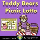 Teddy Bears Picnic Lotto by Giggling Wombat | Teachers Pay Teachers