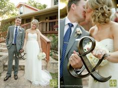 Super cute ampersand sign to use in #wedding photo
