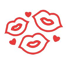 Designs :: Occasions :: Valentines Day :: Lips and Hearts