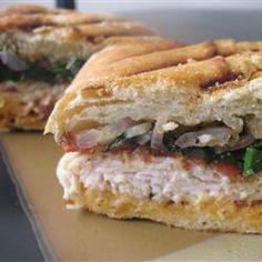 ... - Panini on Pinterest   Paninis, Chicken panini and Panini recipes