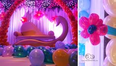 elegant birthday party balloons decoration ideas
