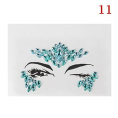 Mar 2019 - Face Gems Stick on Face Jewels Festival Body Glitter Crystals Rhinestones Eye UK Festival Face Jewels, Festival Gems, Festivals, Party Eyes, Body Stickers, Face Gems, Glitter Face, Makeup Tattoos, Xmas Decorations
