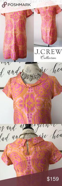 04e8101c491766 J. Crew Collection Silk Mod Shift Dress This J.Crew Collection dress is  giving