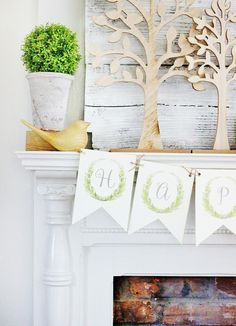 thistlewood farms Classic Farmhouse Monogram Banner Printables http://www.thistlewoodfarms.com/classic-farmhouse-monogram-banner-printables/ via bHome https://bhome.us