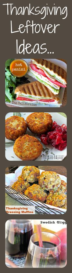 Leftover Turkey Recipes by The Sweet Spot Blog #thanksgiving #leftovers