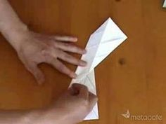▶ Unbelievable paper toy - YouTube === another way to fold a hexaflexagon
