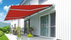 Sonnensegel für Terrasse und veranda rot Outdoor Decor, Home Decor, Balcony, Hamburg, Red, Decoration Home, Room Decor, Home Interior Design, Home Decoration