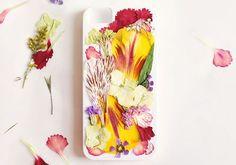 DIY Pressed Flower iPhone Case on Etsy