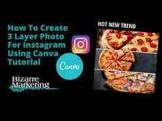 How To Create 3 Layer Photo For Instagram Using Canva Tutorial Mail Marketing, Content Marketing, Photo Layers, Social Media, Make It Yourself, Canvas, Create, Instagram, Tela