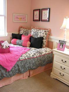 Jugendlich Mädchenschlafzimmerdekor   Blumenbettwäsche #coole  #mädchenzimmer #jugendzimmer #ideen #kinderzimmer #zimmergestaltung