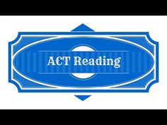 Free In-depth ACT Reading Comprehension Review Course!