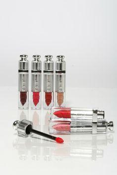 Dior Addict Fluid Stick: a cross between a gloss and a lipstick. [Photo by Kyle Ericksen]