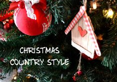 casette country christmas-decor